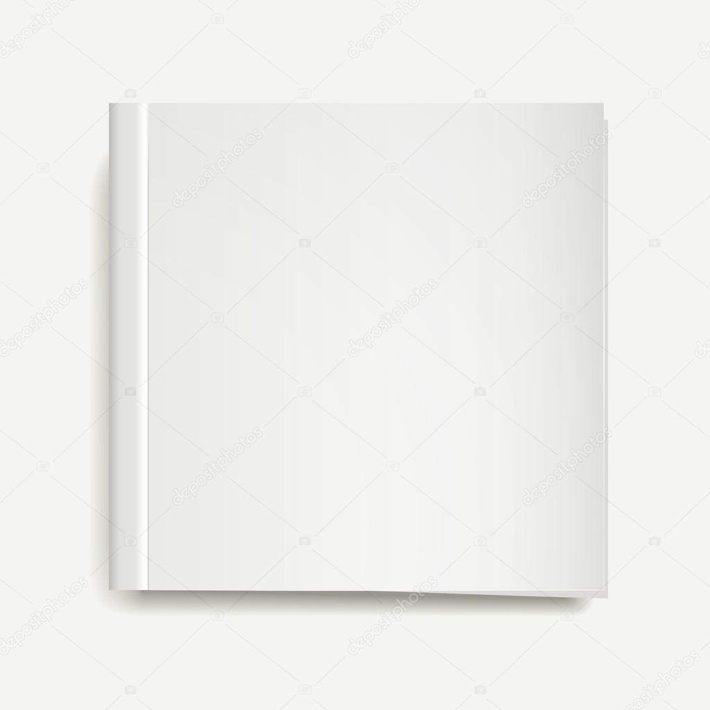 leere Zeitschrift oder Buch Vorlagen — Stockvektor © kchungtw #53581099