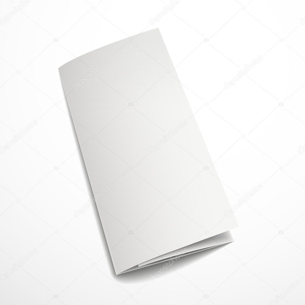 blank tri fold brochure design stock vector kchungtw 55501065