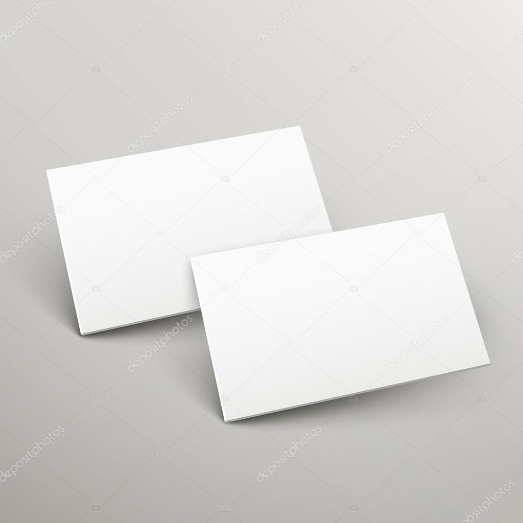 Name Karten Vorlage 3D-Design — Stockvektor © kchungtw #55505595