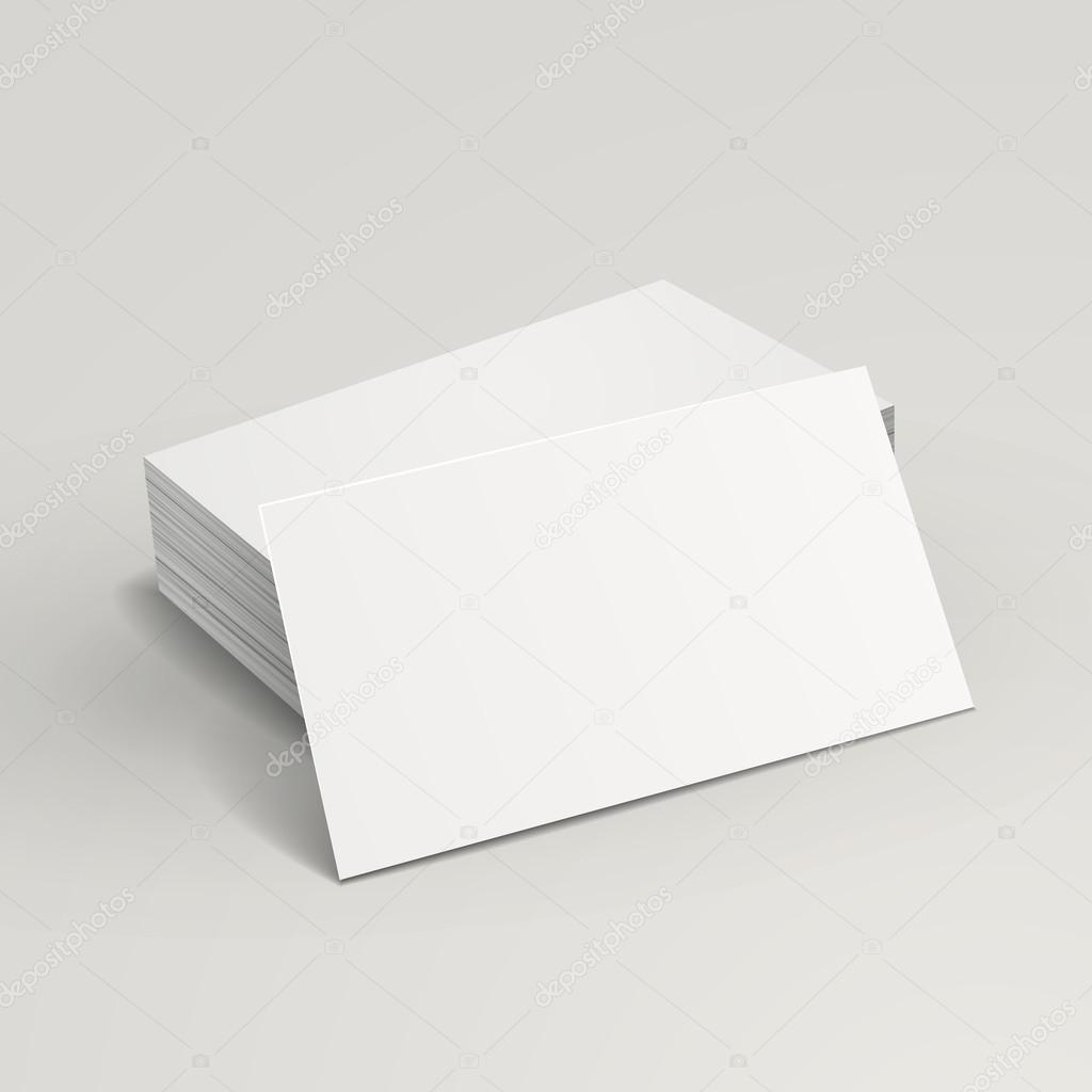 blank business cards — Stock Vector © kchungtw #55836063