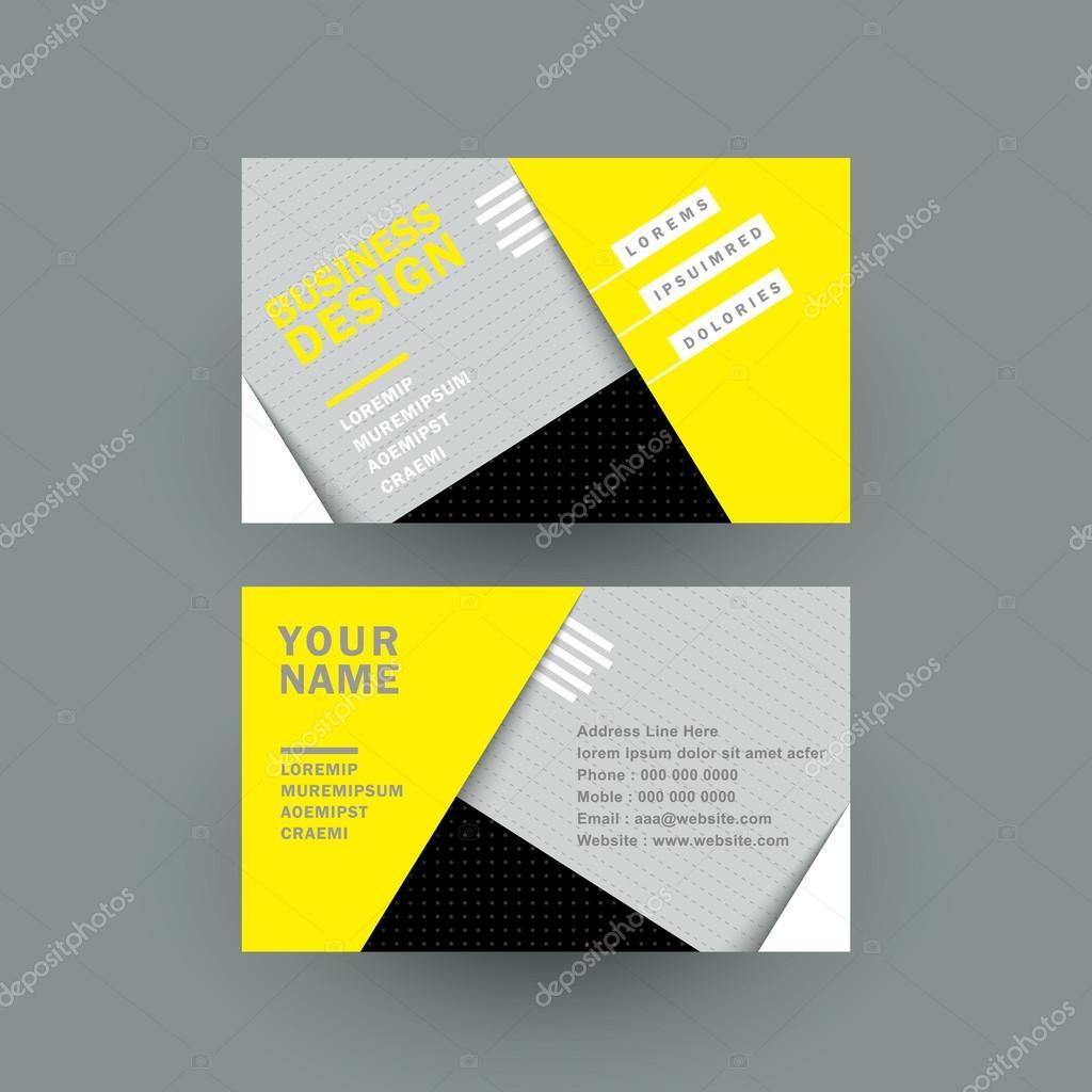 modern paper texture business card — Stock Vector © kchungtw #56072283