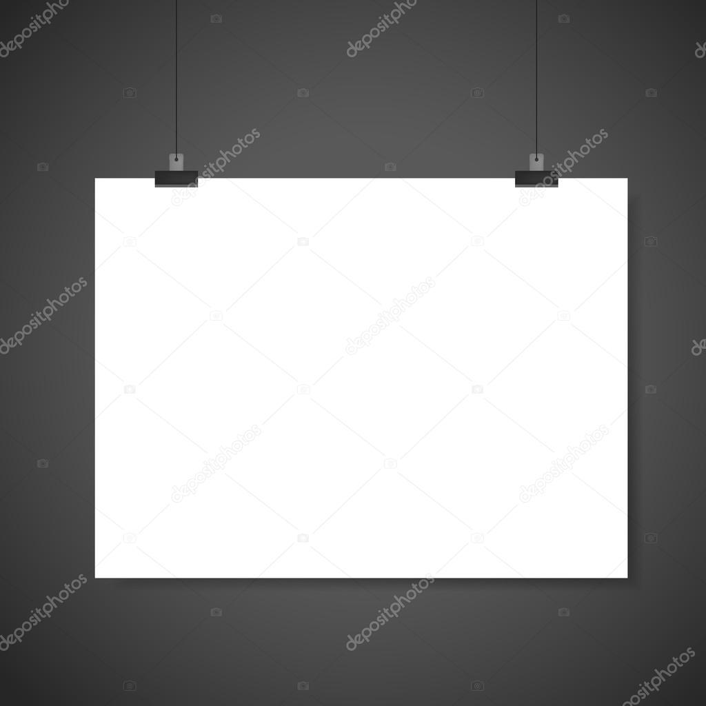 Paper Blank Brochure Template Stock Vector Kchungtw - Blank brochure template