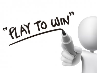 play to win words written by 3d man