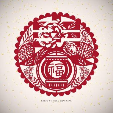 Chinese paper cut arts