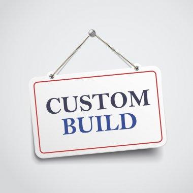 custom build hanging sign