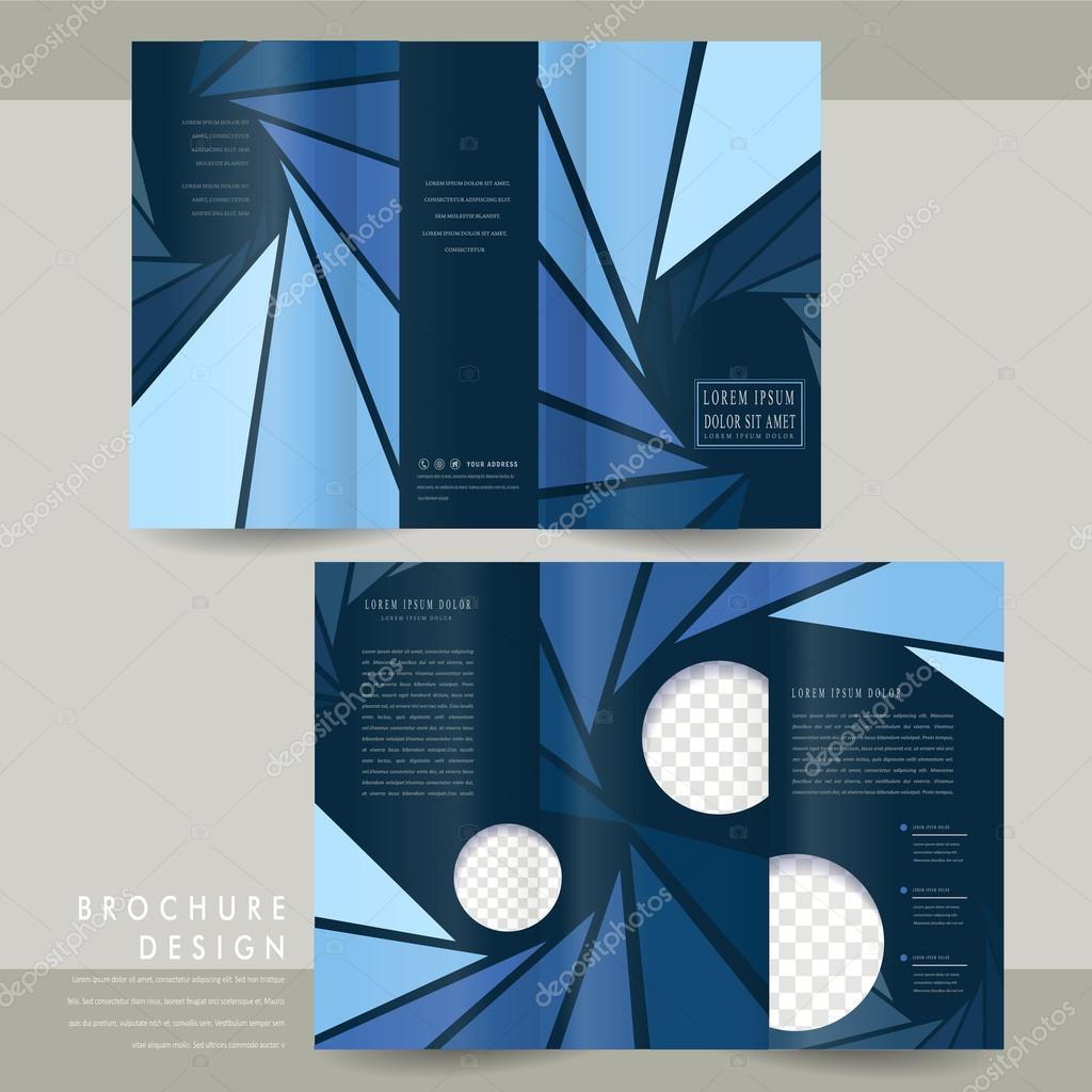modern tri fold brochure template stock vector kchungtw 60916445