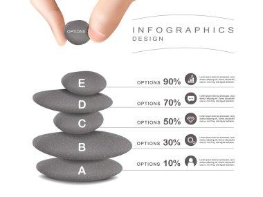 mental concept infographic template design