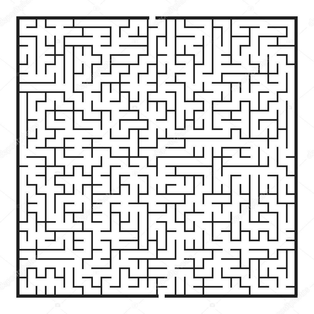 maze game illustration stock vector kchungtw 61676947