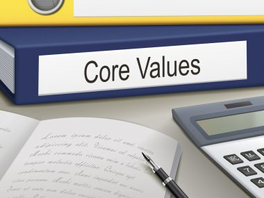 core values binders
