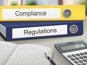 Fotografie compliance and regulations binders
