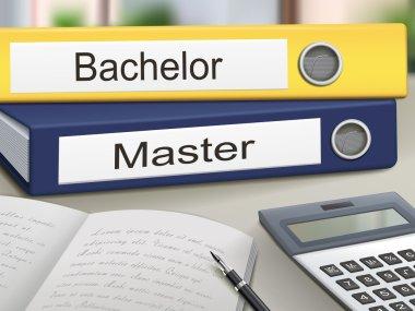 bachelor and master binders