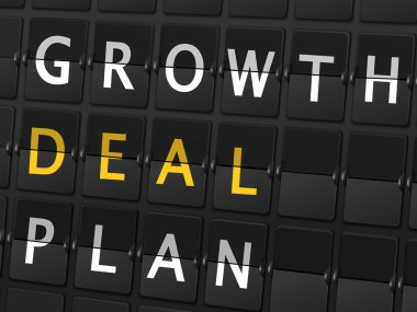 Growth deal plan words