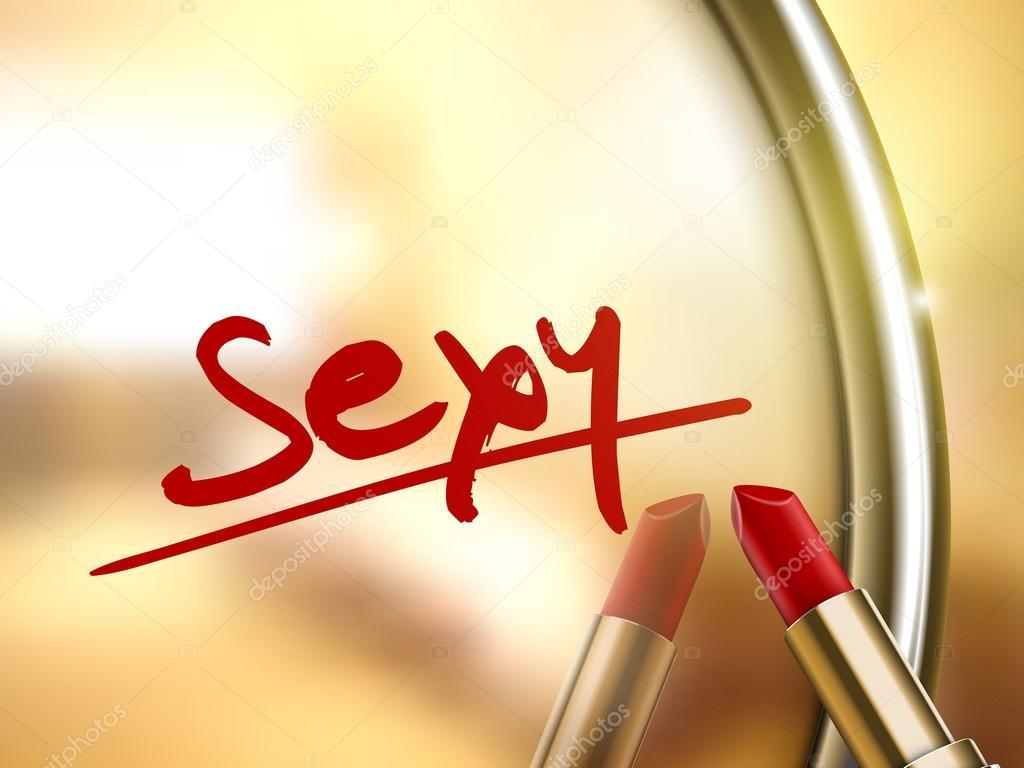 Sexy word written — Stock Vector © kchungtw #64355781