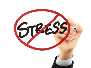 no stress written by 3d hand