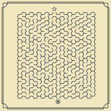 lovely hexagon maze