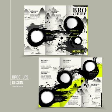 attractive tri-fold brochure design