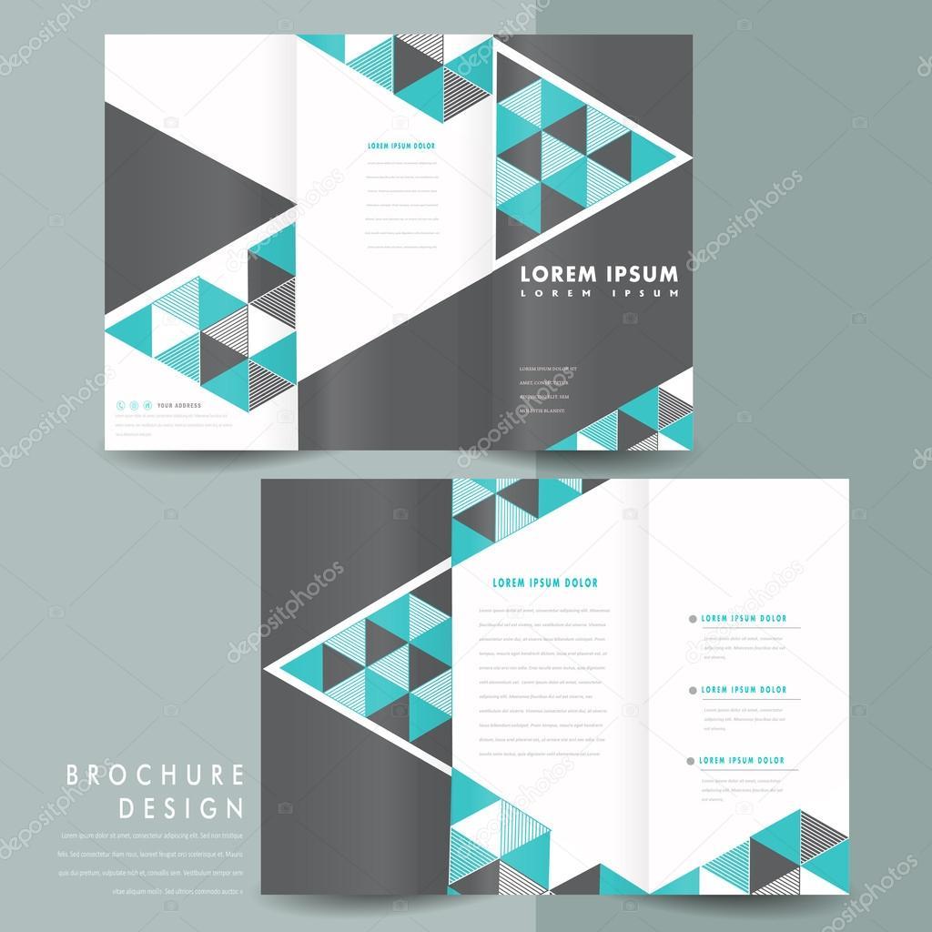 mexico brochure template - dise o de plantilla de folleto tr ptico moderno archivo