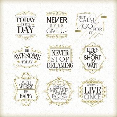 positive quotes set