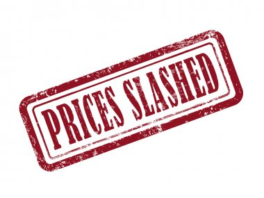 stamp prices slashed in red