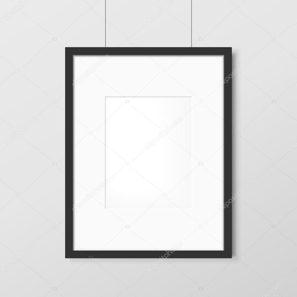 moderne leere Bilderrahmen — Stockvektor © kchungtw #73250207