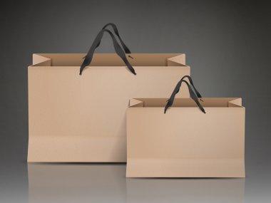kraft paper bags set