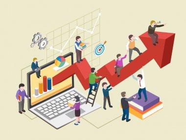 economic growth concept