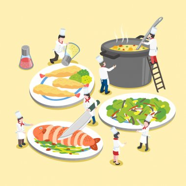 delicious dishes with little cooks