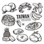 exquisite Sammlung von Taiwan-Spezialitäten