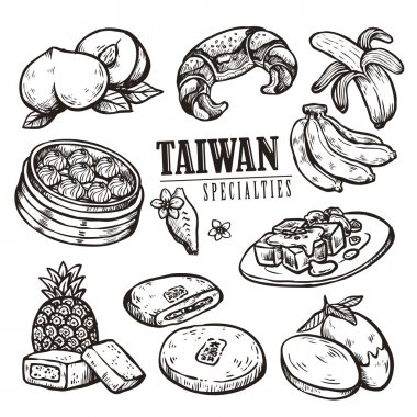 exquisite Taiwan specialties collection