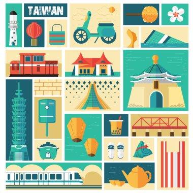 Taiwan travel concept