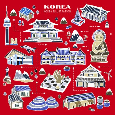 Korea attractions collection