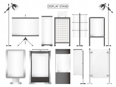 display stand collection set