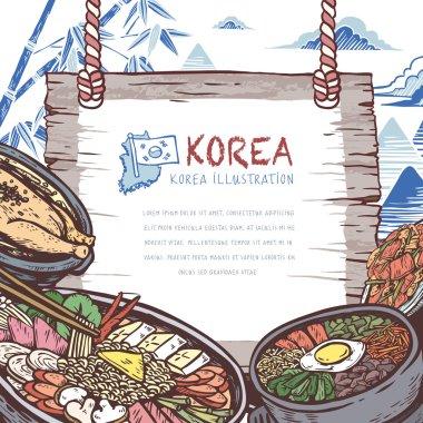 mouth-watering Korean food