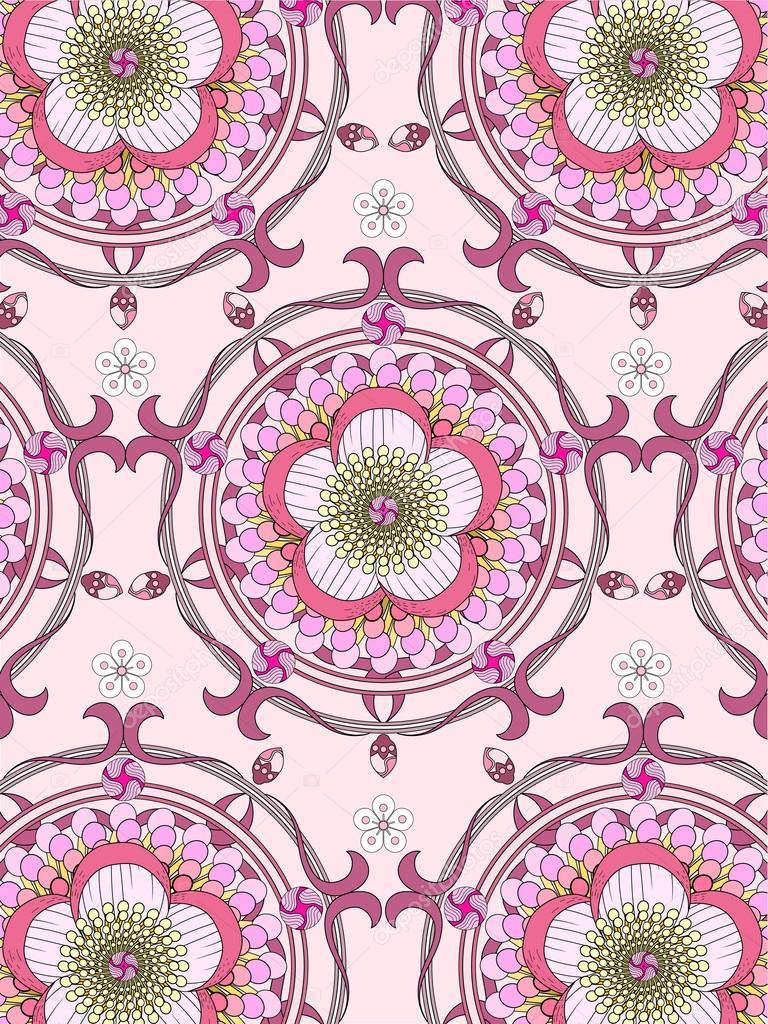 Kiraz çiçeği çiçek Boyama Sayfası Stok Vektör Kchungtw 97922800
