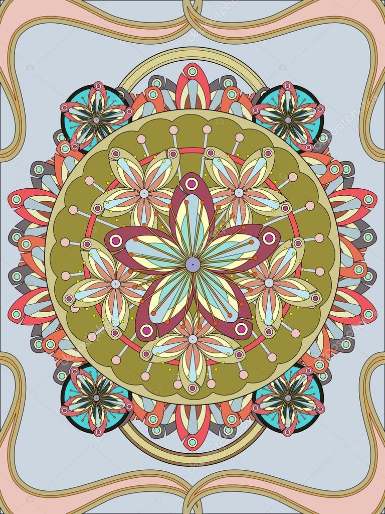Erik çiçeği çiçek Boyama Sayfası Stok Vektör Kchungtw 97923570