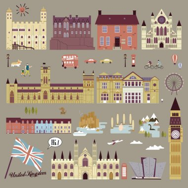 United Kingdom attractions collection