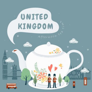 United Kingdom impression - afternoon tea