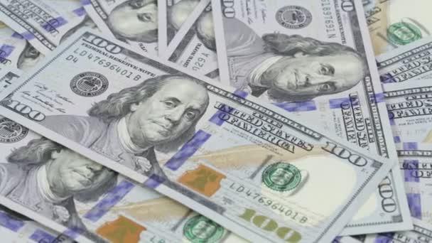 pozadí s peníze americký sto dolarové bankovky