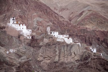 Basgo Monastery is a Buddhist monastery in Basgo, Ladakh, India ,