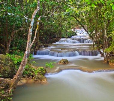 Waterfall in Kanjanaburi forest