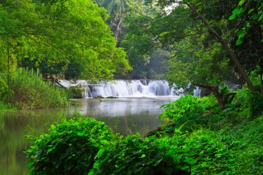summer waterfall in Thailand park