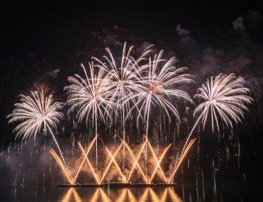 Amazing festive fireworks