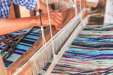 Traditional asian weaving