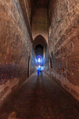 ancient walkway tunnel