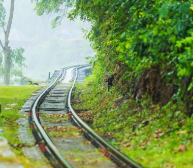 railroad tracks at Thailand