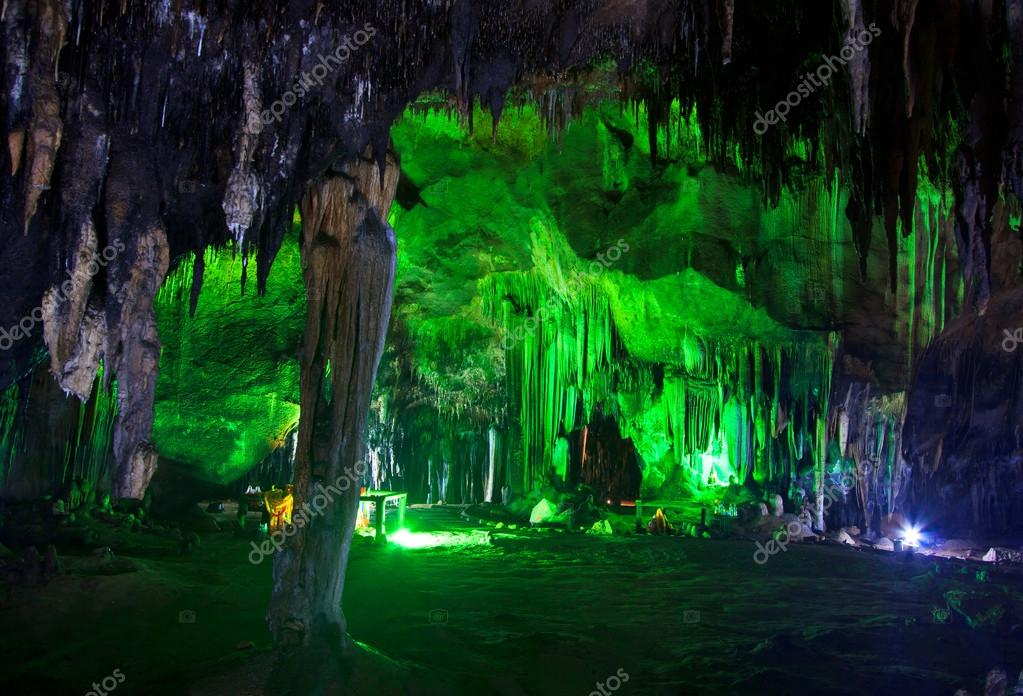 Beautiful cave in National park