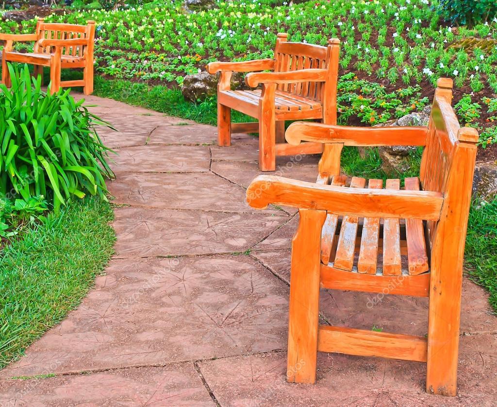 Relax Chairs In Garden U2014 Stock Photo