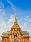 Fényképek Thai királyi temetkezési