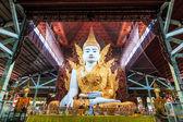 Buddha in Ngahtatkyi Pagoda in Yangon