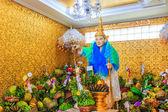 God in Bo Ta Tuang Paya Temple Yangon